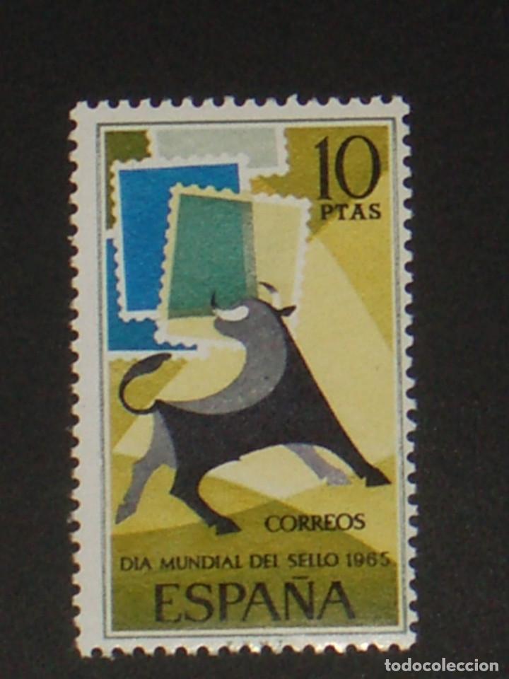 USADO - EDIFIL 1669 - SPAIN 1965 DIA MUNDIAL DEL SELLO /M (Sellos - España - II Centenario De 1.950 a 1.975 - Usados)