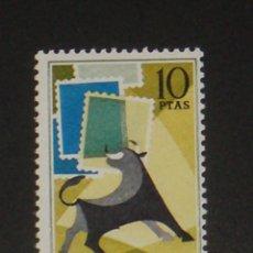 Sellos: USADO - EDIFIL 1669 - SPAIN 1965 DIA MUNDIAL DEL SELLO /M. Lote 103838731