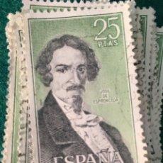 Sellos: AÑO 1972. PERSONAJES ESPAÑOLAS. Nº 2072. 38 UDS.. Lote 68587541