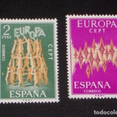 Sellos: USADO - EDIFIL 2090/2091 - SPAIN 1972 EUROPA CEPT /M. Lote 141834533