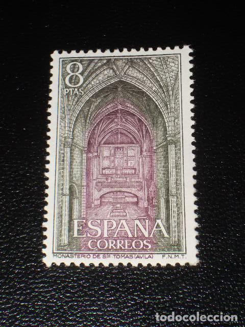 USADO - EDIFIL 2112 - SPAIN 1972 MONASTERIO SANTO TOMAS AVILA /M (Sellos - España - II Centenario De 1.950 a 1.975 - Usados)