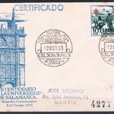 Sellos: 1953.- SALAMANCA A MADRID. Lote 69511285