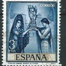 Selos: ESPAÑA,1965, JULIO ROMERO DE TORRE,USADO. Lote 69902189