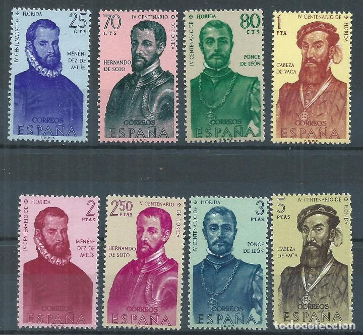 R11/ ESPAÑA NUEVOS ** , 1960, EDF. 1298/05, FORJADORES DE AMERICA (I). (Sellos - España - II Centenario De 1.950 a 1.975 - Nuevos)