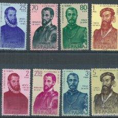 Sellos: R11/ ESPAÑA NUEVOS ** , 1960, EDF. 1298/05, FORJADORES DE AMERICA (I).. Lote 70460017