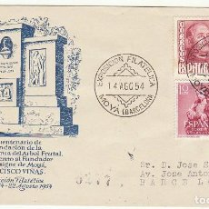 Sellos: EXPOSICIÓN FILATÉLICA : MOYA (BARCELONA). 1954.. Lote 72008659