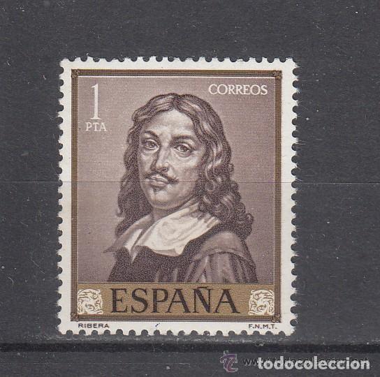 ESPAÑA SPAIN AÑO YEAR 1963 EDIFIL Nº 1502 ** MNH - JOSE DE RIBERA EL ESPAÑOLETO - 1 PTA (Sellos - España - II Centenario De 1.950 a 1.975 - Nuevos)