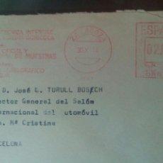 Sellos: TRES SOBRES 1974 1976 FRANQUEO MECÁNICO ZARAGOZA FERIA. Lote 72820529