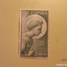 Francobolli: ESPAÑA - 1956 - ARCANGEL SAN GABRIEL - EDIFIL 1195 - NUEVO. Lote 73852103