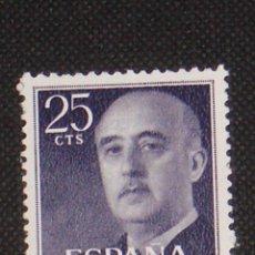 Timbres: NUEVO - EDIFIL 1146 SIN FIJASELLOS - SPAIN 1955/1956 MNH - GENERAL FRANCO /M. Lote 171354493