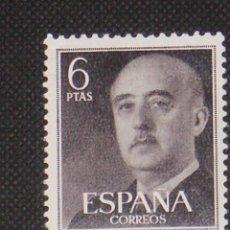 Timbres: NUEVO - EDIFIL 1161 SIN FIJASELLOS - SPAIN 1955/1956 MNH - GENERAL FRANCO /M. Lote 171354648