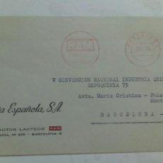 Sellos: FRANQUEO MECÁNICO AÑO 1975 RAM MERECE SU CONFIANZA BARCELONA. Lote 74626810