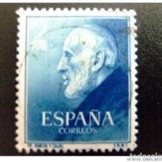Sellos: ESPAÑA SPAIN AÑO YEAR 1952 EDIFIL Nº 1119 - USADO (O) USED (O) - DOCTORES RAMON Y CAJAL Y FERRAN - 2. Lote 125424343