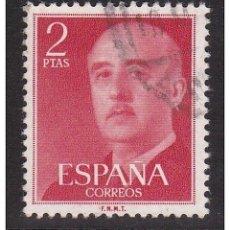 Sellos: ESPAÑA SPAIN AÑO YEAR 1955 EDIFIL Nº 1157 - USADO (O) USED (O) - GENERAL FRANCO - 2 PTAS. Lote 125424451