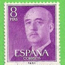 Sellos: EDIFIL 1162. GENERAL FRANCO. (1955-56).. Lote 75408767
