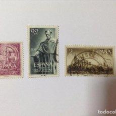 Sellos: ESPAÑA 1953 UNIVERSIDAD DE SALAMANCA 1126/8. Lote 75410383