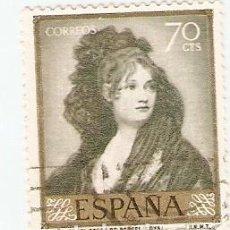 Sellos: SELLO USADO ESPAÑA. EDIFIL Nº 1214. GOYA. DOÑA ISABEL COBOS DE PORCEL (REF. 1U-1214). Lote 75578539