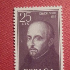 Sellos: SELLO - ESPAÑA - EDIFIL 1166 - IV CENTENARIO MUERTE SAN IGNACIO DE LOYOLA - 25 CTS. - 1955. Lote 75757083