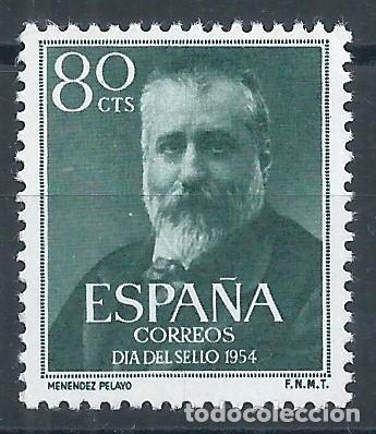 R35.G1 / ESPAÑA NUEVOS ** 1954, EDF. 1142, CAT. 11,00€, MARCELINO MENENDEZ Y PELAYO (Sellos - España - II Centenario De 1.950 a 1.975 - Nuevos)