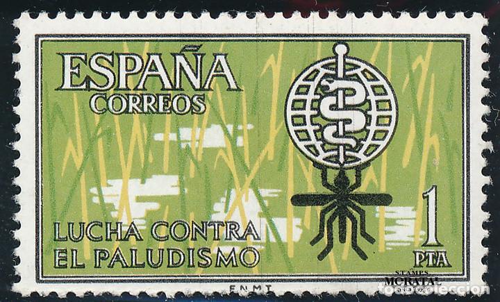 1962 EDIFIL 1479** NUEVO SIN CHARNELA. LUJO. ANTIMALARIA (Sellos - España - II Centenario De 1.950 a 1.975 - Nuevos)