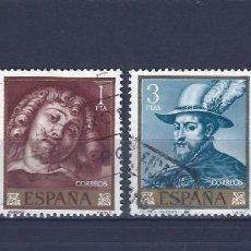 Sellos: EDIFIL 1434-1437 PEDRO PABLO RUBENS 1962 (SERIE COMPLETA). EXCELENTE CENTRADO.. Lote 77435517