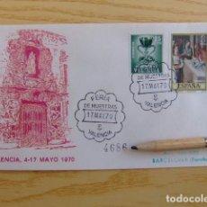 Sellos: FDC ESPAÑA 1970 FERIA DE MUESTRAS DE VALENCIA 4686. Lote 80360441