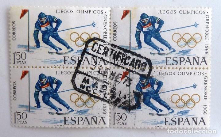Sellos De Espana 1968 Edifil 1851 Bloque De 4 Comprar Sellos