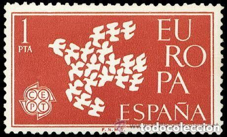 1961 EDIFIL 1371** NUEVO SIN CHARNELA. EUROPA CEPT (Sellos - España - II Centenario De 1.950 a 1.975 - Nuevos)