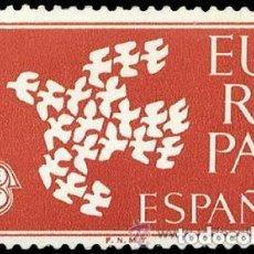 Sellos: 1961 EDIFIL 1371** NUEVO SIN CHARNELA. EUROPA CEPT. Lote 195389395