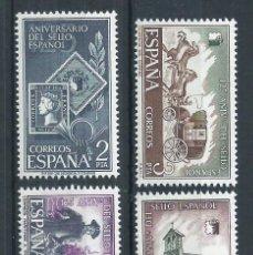 Sellos: R15.BLOCK_03/ ESPAÑA 2232/35 ** MNH, AÑO 1975, CAT. 2,55€ ANIV. DEL SELLO ESPAÑOL. Lote 84420580