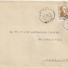 Sellos: CARTA MATASELLO ANDUJAR JAEN 1950 . Lote 84748112