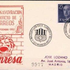 Sellos: 1957.- MANRESA A MADRID. Lote 84840208