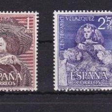 Sellos: 1340/43 III CENTENARIO DE LA MUERTE DE VELAZQUEZ - NUEVOS SIN CHARNELA. Lote 86975924