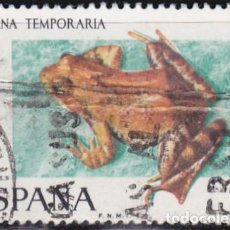 Sellos: 1975 - FAUNA HISPANICA - RANA ROJA - EDIFIL 2276. Lote 88989972