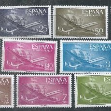 Sellos: R16.G2/ ESPAÑA NUEVOS ** 1955/56, EDF. 1169/79, SUPERCONSTELATION Y NAO - SANTA MARIA -. Lote 100142098