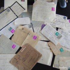 Sellos: JML LOTE CARTAS CON SELLOS, SOBRE CON SELLO Y CONTENIDO, LOTE DE TODO. 21 SOBRES. VER FOTOS.. Lote 95895991