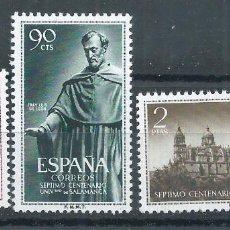 Sellos: .WB.G20 / ESPAÑA EDIFIL 1126/28 MNH ** (SIN CHARNELA), 1953. Lote 96624483
