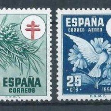 Sellos: R60 / ESPAÑA EDIFIL 1084/87 ** MNH (SIN CHARNELA), 1950. Lote 143749822