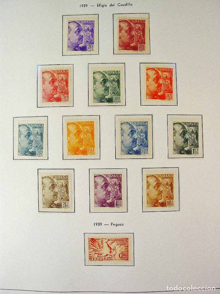 EDIFILL 867/878.EFIGIE DEL GENERAL FRANCO. 1939 SERIE COMPLETA. 12 VALORES. LUJO. (Sellos - España - II Centenario De 1.950 a 1.975 - Nuevos)