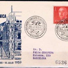Sellos: 1959.- MADRID A BARCELONA. Lote 97796803