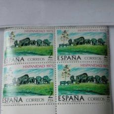 Sellos: SELLO ESPAÑA EDIFIL 2294. URUGUAY. AÑO 1975. BLOQUE 2X2 .NUEVO. Lote 98496530
