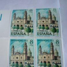Sellos: SELLO ESPAÑA EDIFIL 2296. URUGUAY. AÑO 1975. BLOQUE 2X2 .NUEVO. Lote 98496734