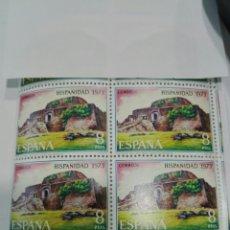 Sellos: SELLO ESPAÑA EDIFIL 2157. NICARAGUA. AÑO 1973. BLOQUE 2X2 .NUEVO. Lote 98497807