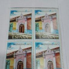 Sellos: SELLO ESPAÑA EDIFIL 2156. NICARAGUA. AÑO 1973. BLOQUE 2X2 .NUEVO. Lote 98497967