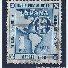 Sellos: EDIFIL 1091 VI CONGRESO DE LA UNIÓN POSTAL DE LAS AMÉRICAS Y ESPAÑA 1951.. Lote 98573923