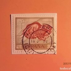 Sellos: 1967 - PINTURAS RUPESTRES - EDIFIL 1782 - BISONTE (ALTAMIRA, SANTANDER).. Lote 98635079