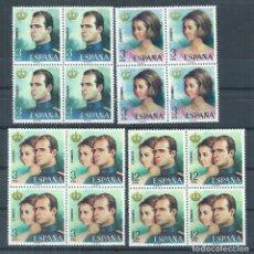 Sellos: R30.G10/ ESPAÑA 2302/05 ** MNH 1975, REYES DE ESPAÑA. Lote 111945059