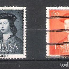 Sellos: ESPAÑA.V CENTENARIO DEL NACIMIENTO DE FERNANDO EL CATÓLICO.EDIFIL Nº 1107 Y 1109. Lote 99942983