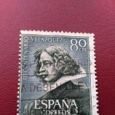 Stamps - AÑO 1961. EDIFIL 1340. III CENTENARIO DE LA MUERTE VELAZQUEZ - 99947723