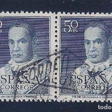 Sellos: EDIFIL 1102 SAN ANTONIO MARÍA CLARET 1951 (EXCELENTE PAREJA).. Lote 100211255